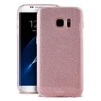 PURO Glitter Shine Cover - Etui Samsung Galaxy S8 (Rose Gold)