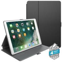 "Speck Balance Folio - Etui iPad 9.7"" (2018/2017) / iPad Pro 9.7"" / iPad Air 2 / iPad Air w/Magnet & Stand up (Black/Slate Grey)"