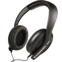 Sennheiser HD 202 II West - Zamknięte dynamiczne słuchawki stereo Hi-Fi (czarny)
