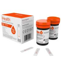iHealth Codeless Blood Glucose Test Strips - Paski do glukometru 0,7 µl bez enzymu GDH (2 x 25 szt.)