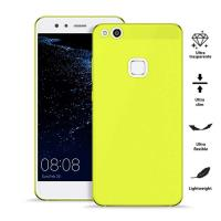 PURO 0.3 Nude - Etui Huawei P10 Lite (Fluo Yellow)
