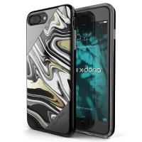 X-Doria Revel Lux - Etui iPhone 7 Plus (Black Swirl)