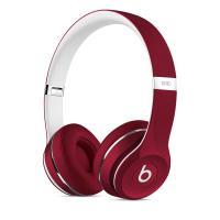 Beats Solo2 Luxe Edition - Słuchawki nauszne (czerwony)