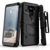 Zizo Bolt Cover - Pancerne etui LG G6 ze szkłem 9H na ekran (czarny)