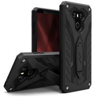 Zizo Static Cover - Pancerne etui LG G6 z podstawką (czarny)