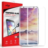 Zizo Full Edge to Edge - Szkło ochronne 9H na cały ekran Samsung Galaxy S8 (przezroczysty)