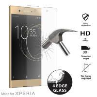 PURO Premium Full Edge Tempered Glass MFX - Szkło ochronne hartowane na ekran Sony Xperia XA1 Ultra