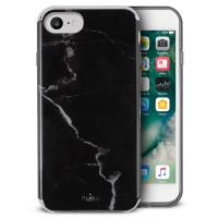 PURO Marble Cover - Etui iPhone 8 / 7 / 6s / 6 (Marquina Black)