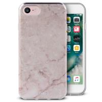 PURO Marble Cover - Etui iPhone 8 / 7 / 6s / 6 (Portogallo Pink)