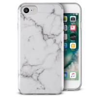 PURO Marble Cover - Etui iPhone 8 / 7 / 6s / 6 (Statuary White)