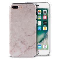 PURO Marble Cover - Etui iPhone 8 Plus / 7 Plus / 6s Plus / 6 Plus (Portogallo Pink)