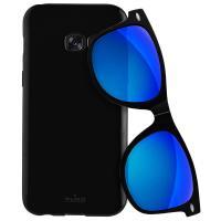 PURO Sunny Kit - Zestaw etui Samsung Galaxy A3 (2017) + składane okulary przeciwsłoneczne (czarny)
