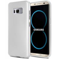 Mercury I-Jelly - Etui Samsung Galaxy S8+ (srebrny)