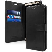 Mercury Bluemoon Flip - Etui Samsung Galaxy S8 z kieszeniami na karty + stand up (czarny)