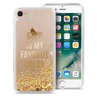 Puro Aqua Cover - Etui iPhone 8 / 7 / 6s / 6  (Gold is my favourite colour)