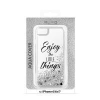Puro Aqua Cover - Etui iPhone 8 / 7 / 6s / 6 (Enjoy the little things)