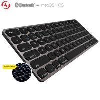 Kanex MultiSync Premium Slim Keyboard - Podświetlana klawiatura Bluetooth dla Mac & iOS (czarny)