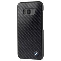 BMW Real Carbon Fiber Case - Etui Samsung Galaxy S8 (czarny)