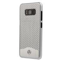 Mercedes Wave Line - Etui aluminiowe Samsung Galaxy S8+ (srebrny)