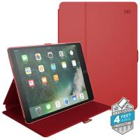 "Speck Balance Folio - Etui iPad Pro 10.5"" (2017) w/Magnet & Stand up (Dark Poppy Red/Velvet Red)"