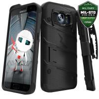Zizo Bolt Cover - Pancerne etui Samsung Galaxy S7 edge (czarny)