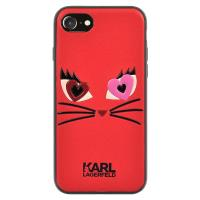Karl Lagerfeld Choupette In Love 2 Case - Etui iPhone 7 (Red)