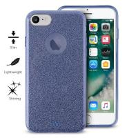 PURO Glitter Shine Cover - Etui iPhone 8 / 7 / 6s / 6 (Blue) Limited edition