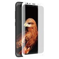 X-Doria Armour 3D Glass - Szkło ochronne 9H na cały ekran Samsung Galaxy S8 (biała ramka)