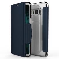 X-Doria Engage Folio - Etui Samsung Galaxy S8 z kieszeniami na kartę (Blue)