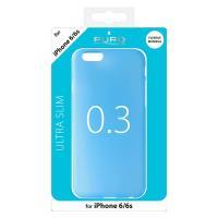 """PURO Ultra Slim """"0.3"""" Cover - Etui iPhone 6s / iPhone 6 (niebieski)"""