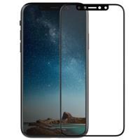 X-Doria Revel Clear - Hartowane szkło ochronne 9H na cały ekran iPhone X (czarna ramka)