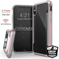 X-Doria Defense Shield - Etui aluminiowe iPhone X (Rose Gold)