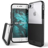 X-Doria Dash - Etui iPhone 8 / 7 (Black Leather)