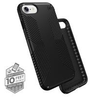Speck Presidio Grip - Etui iPhone 8 / 7 / 6s / 6 (Black/Black)