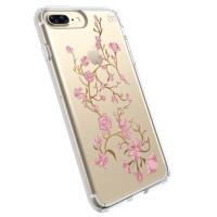 Speck Presidio Clear with Print - Etui iPhone 8 Plus / 7 Plus / 6s Plus / 6 Plus (Goldenblossoms Pink/Clear)