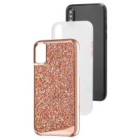 Case-mate Brilliance Tough - Etui iPhone X (Rose Gold)