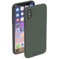 Krusell Sandby Cover - Etui iPhone X (Moss)
