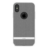 Moshi Vesta - Etui iPhone X (Herringbone Gray)