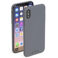 Krusell Sandby Cover - Etui iPhone X (Stone)