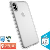 Speck Presidio Clear - Etui iPhone X (przezroczysty)