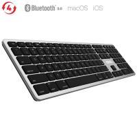Kanex MultiSync Mac Keyboard - Pełna klawiatura Bluetooth dla Mac & iOS (czarny)