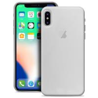"""PURO Ultra Slim """"0.3"""" Cover - Etui iPhone X (półprzezroczysty)"""