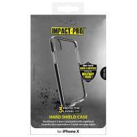 PURO Impact Pro Hard Shield - Etui iPhone X (czarny)