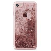 PURO Aqua Winter Cover - Etui iPhone 8 / 7 / 6s / 6 (Rose Gold)