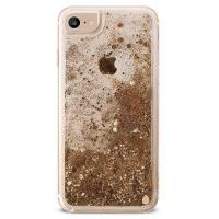 PURO Aqua Winter Cover - Etui iPhone 8 / 7 / 6s / 6 (Gold)