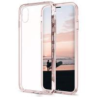 Zizo PC+TPU Case - Etui iPhone X (Crystal Pink)