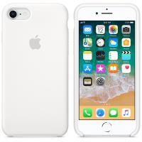 Apple Silicone Case - Silikonowe etui iPhone 8 / 7 (biały)