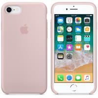Apple Silicone Case - Silikonowe etui iPhone 8 / 7 (piaskowy róż)