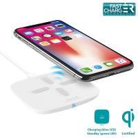 PURO Fast Charger Charging Induction Station QI - Uniwersalna stacja bezprzewodowa z ładowaniem indukcyjnym QI, 5 V / 2 A | 9 V / 1,8 A (biały)