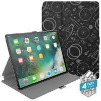 "Speck Balance Folio Print - Etui iPad Pro 10.5"" (2017) w/Magnet & Stand up (Bikeparts Black/Ash Grey)"